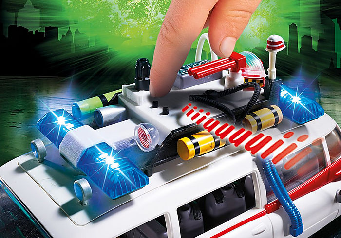 Playmobil Ghostbusters Ecto 1 with Lights & Sound