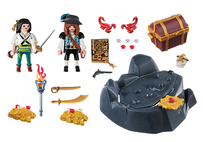 Playmobil Pirate Treasure Hideout