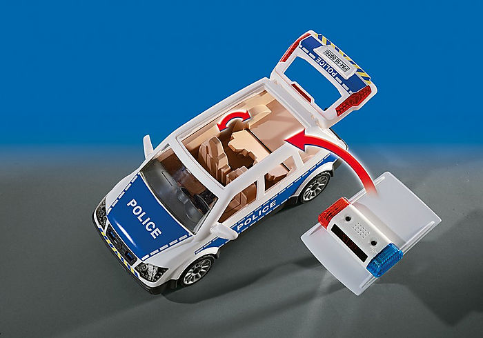 Playmobil City Action Squad Car with Lights and Sound