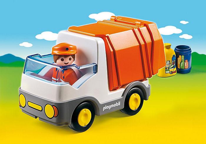 Playmobil 1 2 3 Recycling Truck