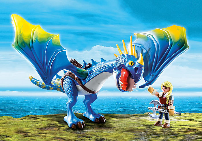 Playmobil DreamWorks Dragons Astrid and Stormfly