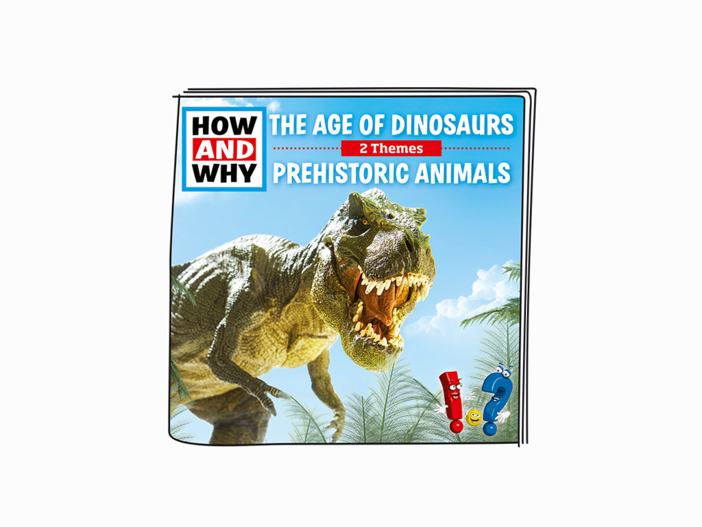 Tonies How and Why - The Age of Dinosaurs, Prehistoric Animals