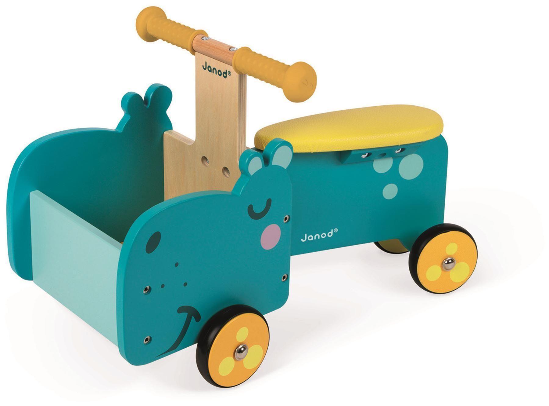 Janod Hippopotamus Ride-On