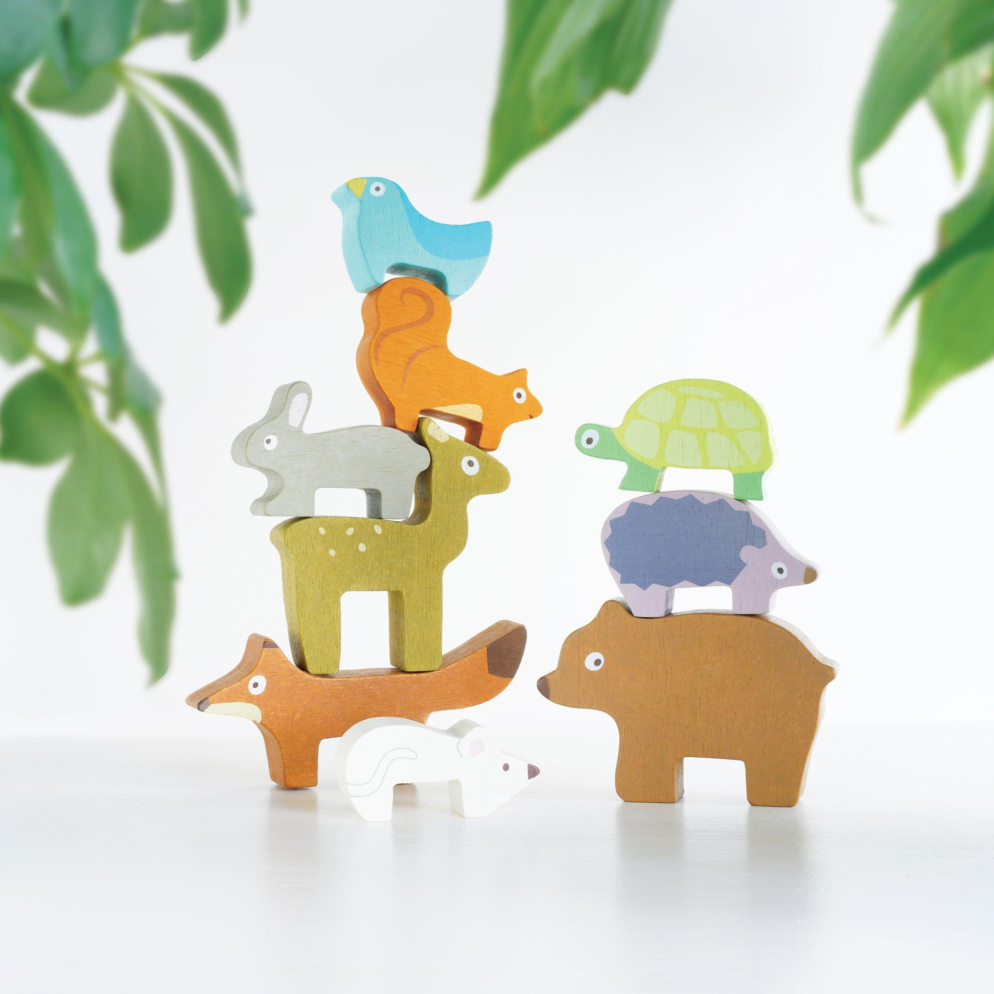 Le Toy Van Wooden Petilou Forest Stacker