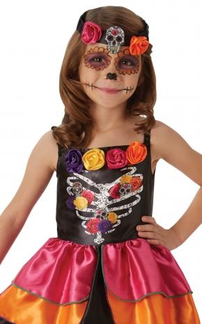Sugar Skull Day of the Dead - Small Costume