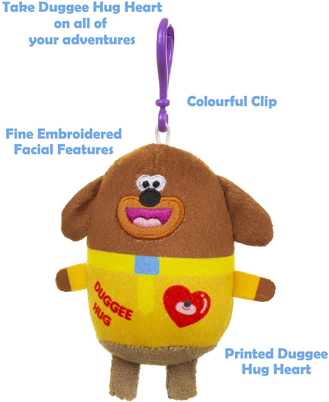 Hey Duggee Clip On Soft Toys