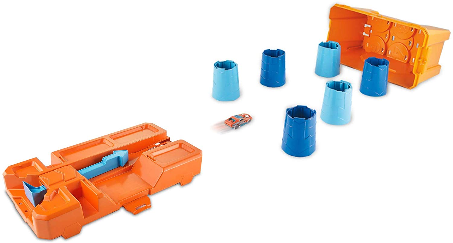 Hot Wheels Track Builder Barrel Box