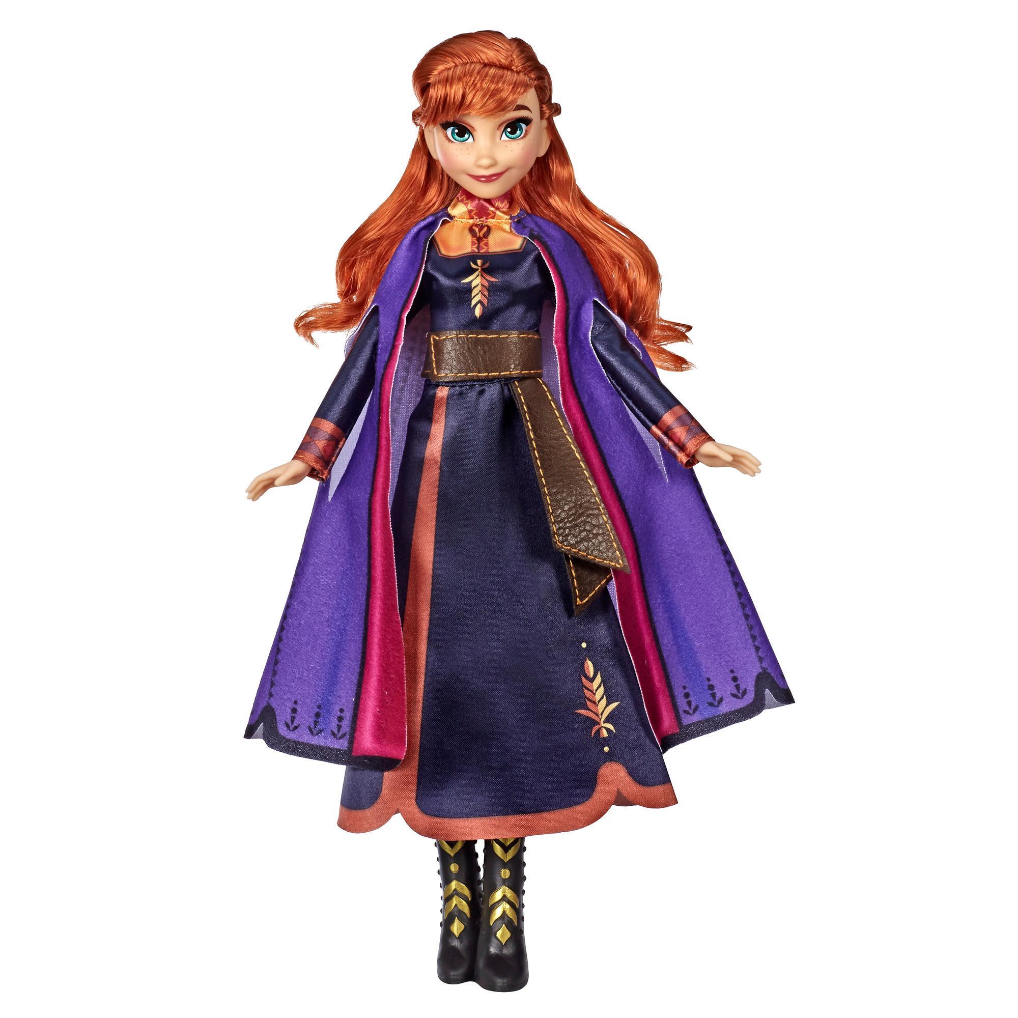 Disney Princess Frozen 2 Singing Fashion Doll - Anna