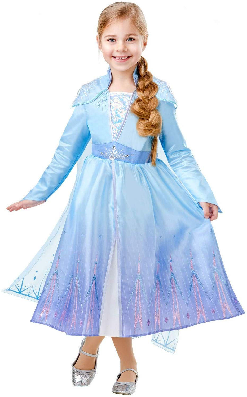Disney Princess Frozen 2 Deluxe Elsa - Small Costume