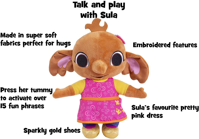 Bing Huggable Talking Sula Soft Toy