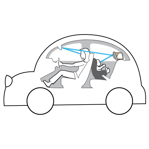 Taf Toys Koala Car Mirror