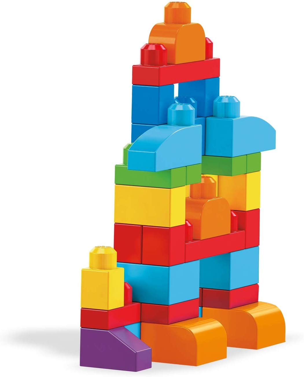 Mega Bloks Big Building Bag 60 Pcs - Blue