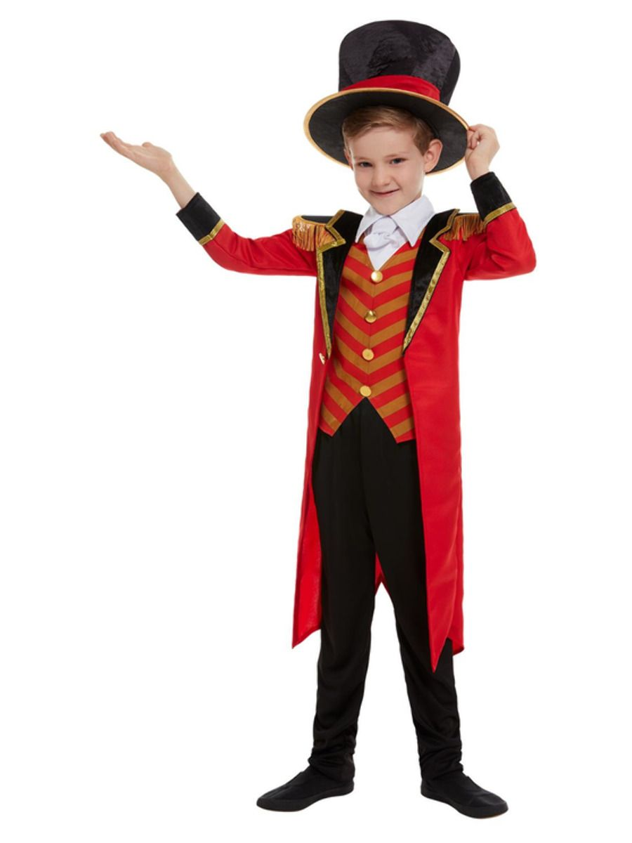 Smiffys Deluxe Boys Ringmaster Costume - Small