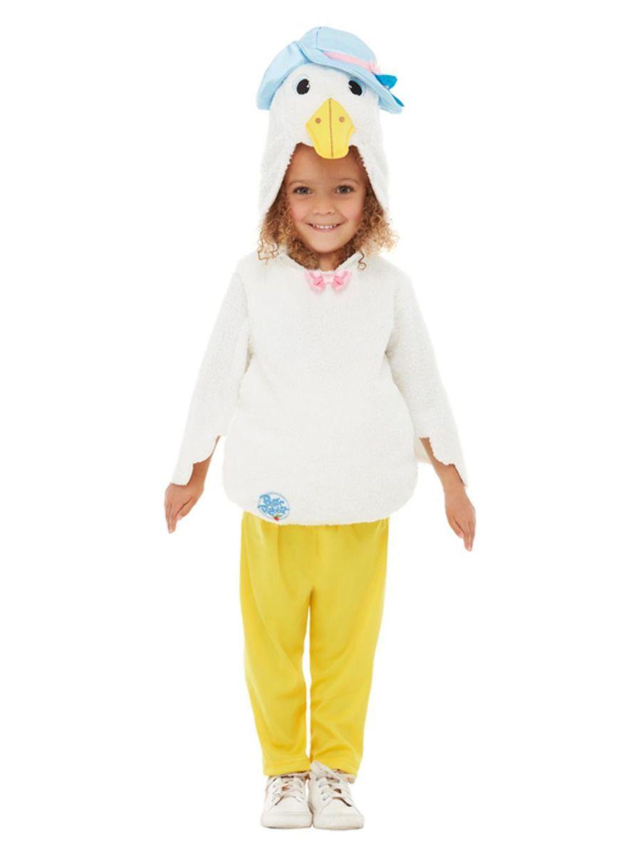 Smiffys Peter Rabbit Deluxe Jemima Puddle-Duck Costume - Toddler Medium