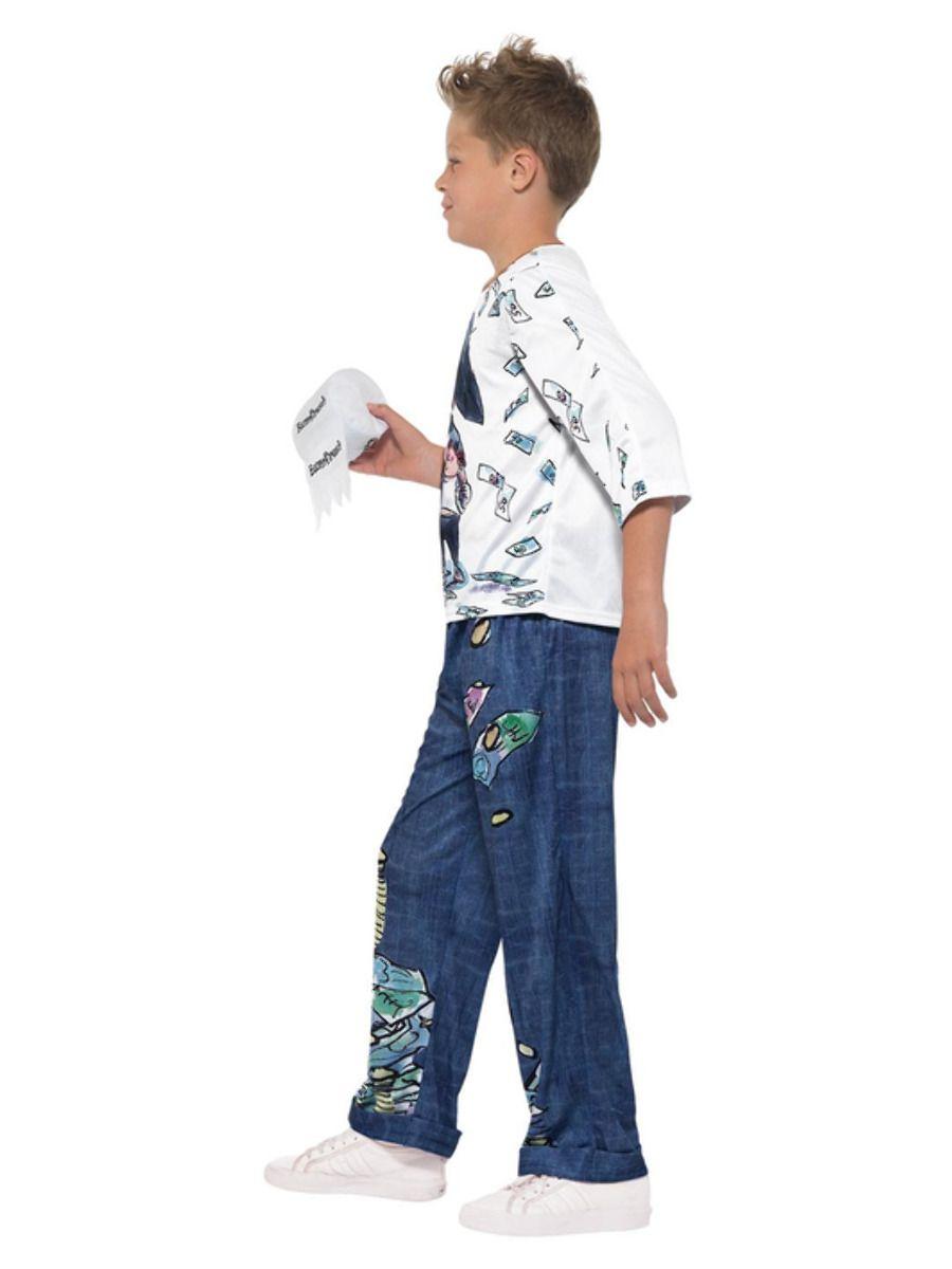 Smiffys David Walliams Deluxe Billionaire Boy Costume - Medium