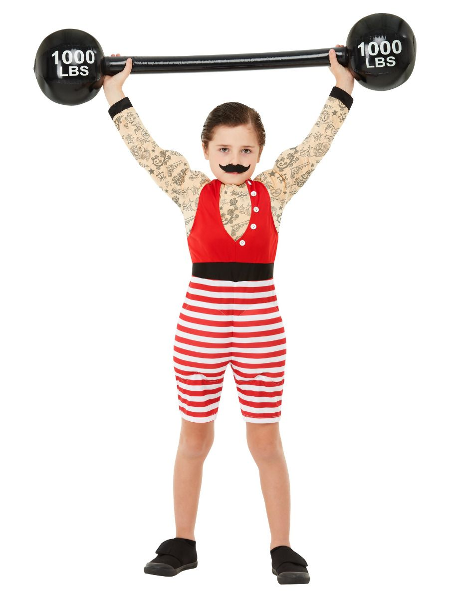 Smiffys Deluxe Strong Boy Costume - Small