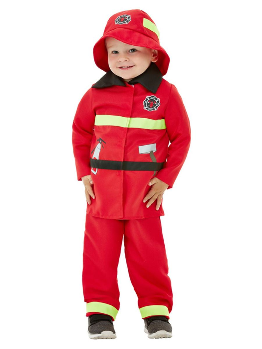 Smiffys Fire Fighter Costume - Small
