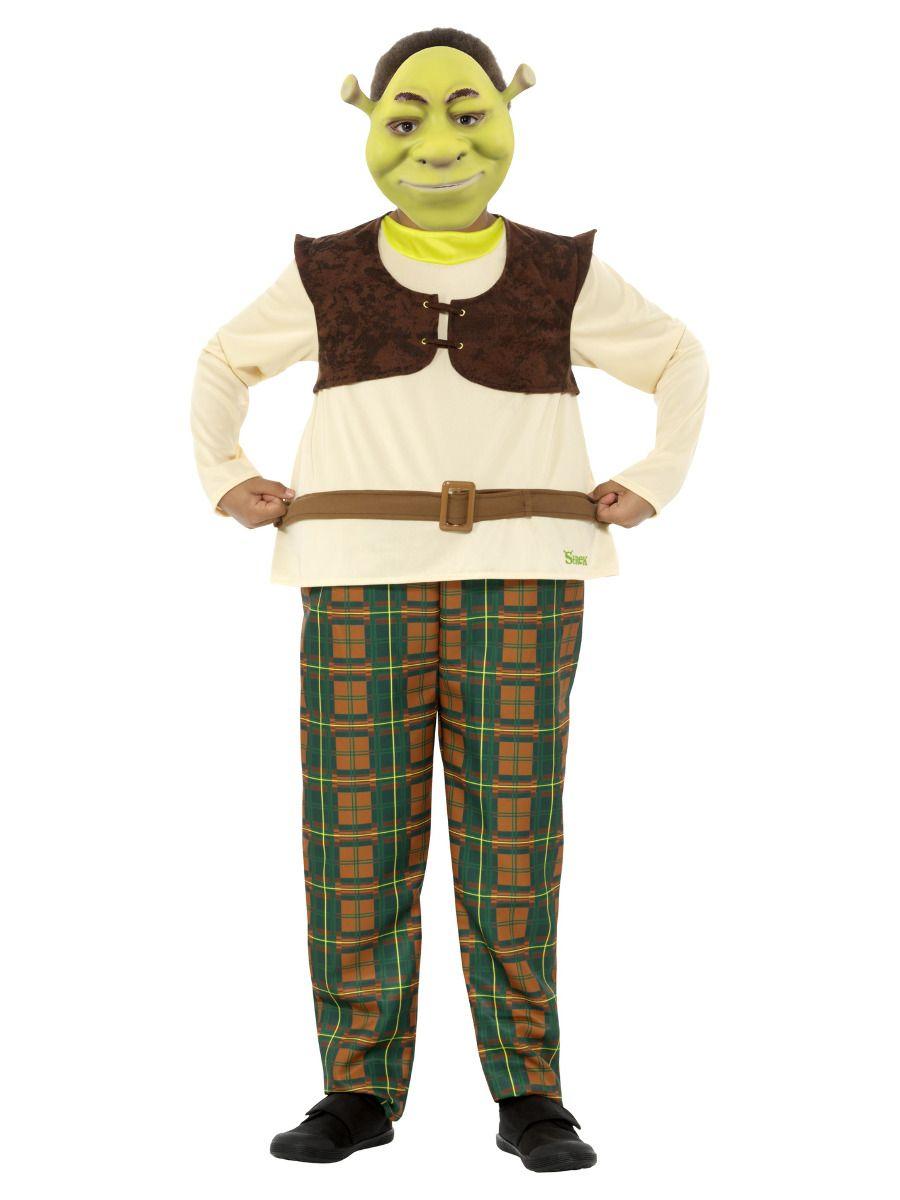 Smiffys Deluxe Shrek Costume - Small