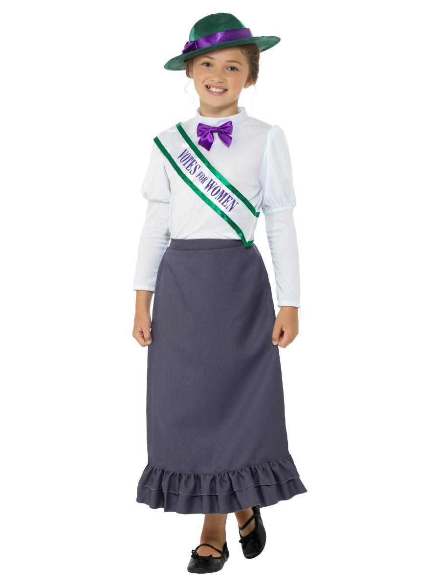 Smiffys Victorian Suffragette Costume - Small