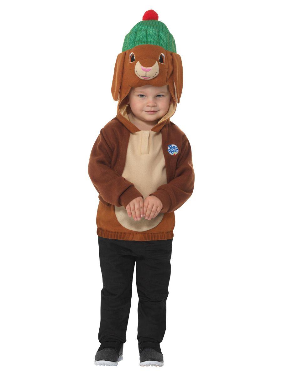 Smiffys Peter Rabbit Deluxe Benjamin Bunny Costume - Toddler Medium