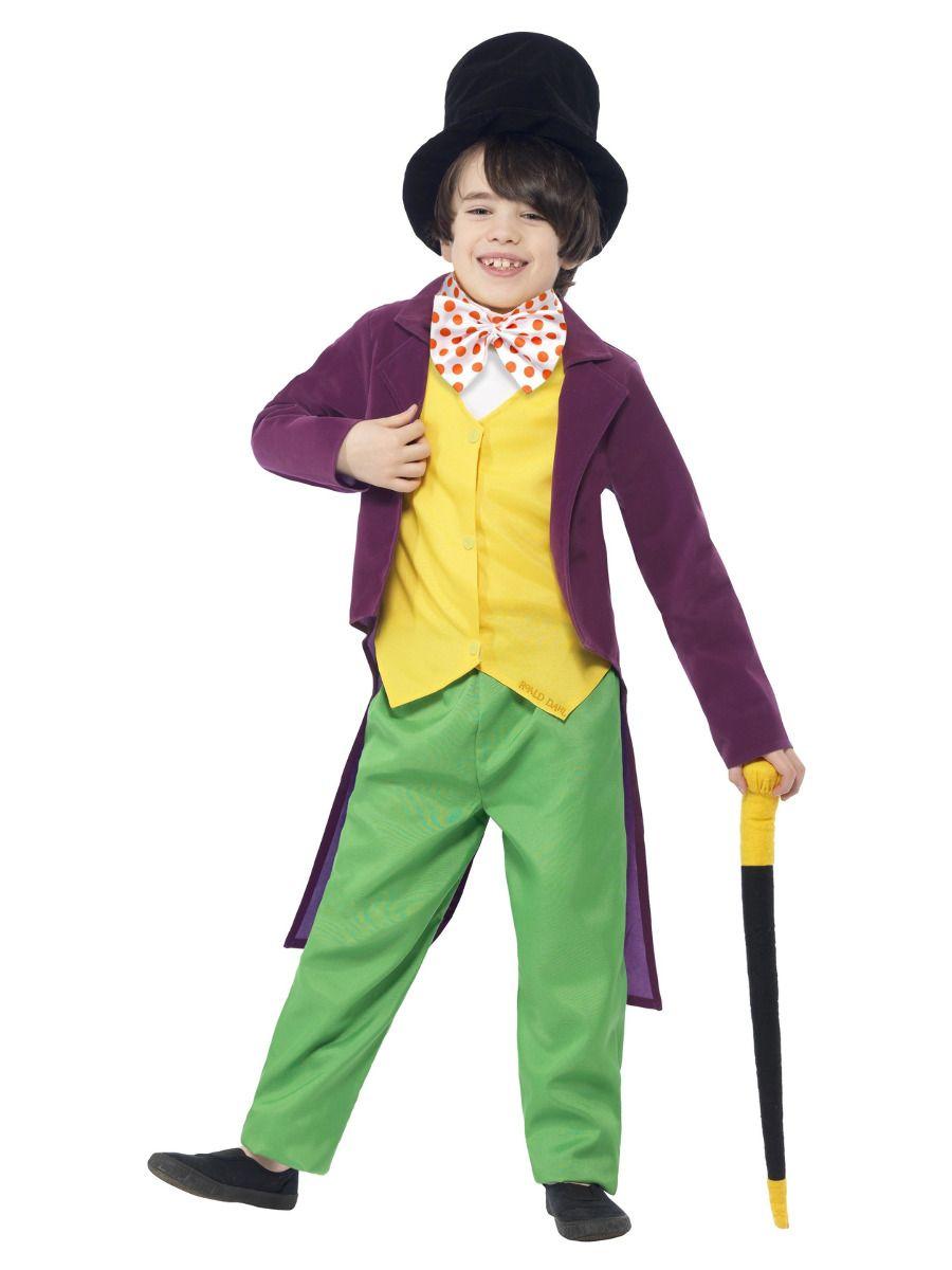 Smiffys Roald Dahl Willy Wonka Costume - Small