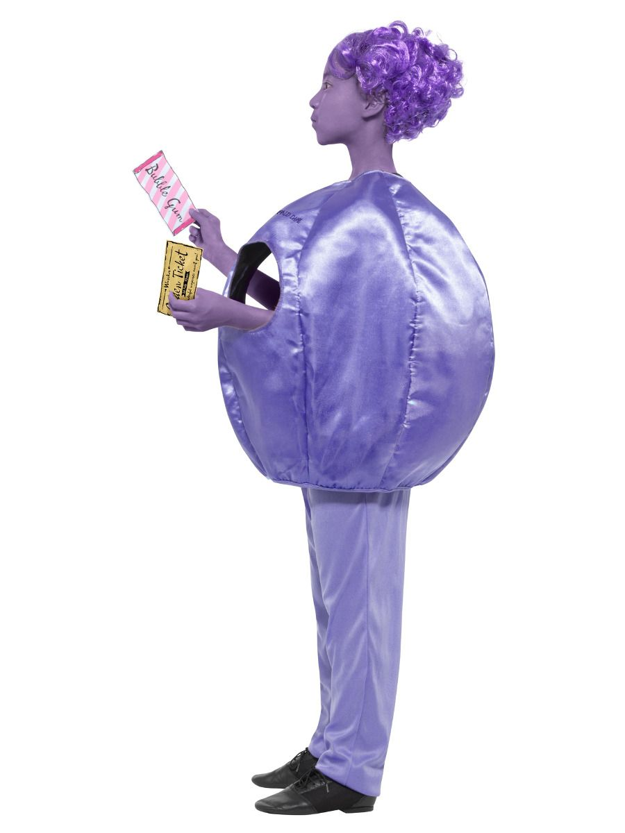 Smiffys Roald Dahl Deluxe Violet Beauregarde Costume - Medium