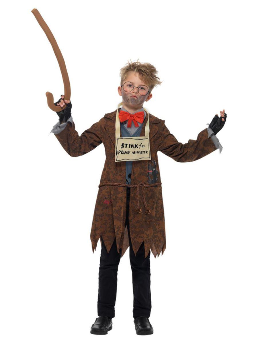 Smiffys David Walliams Deluxe Mr Stink Costume - Medium