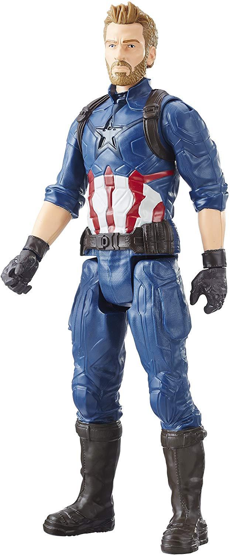 Marvel Avengers Titan Hero Figure - Captain America