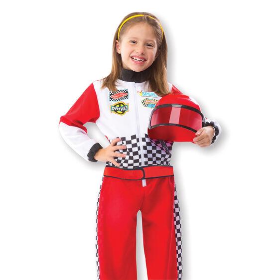 Melissa & Doug F1 Race Car Driver Role Play Costume