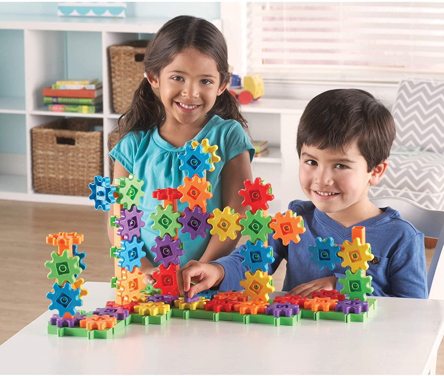 Learning Resources Gears Gears Gears Deluxe Building 100 Pcs Set