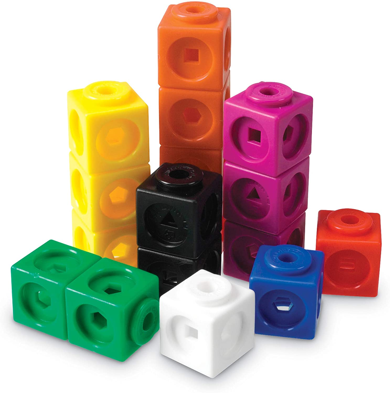 Learning Resources Mathlink Cubes 100 Pcs