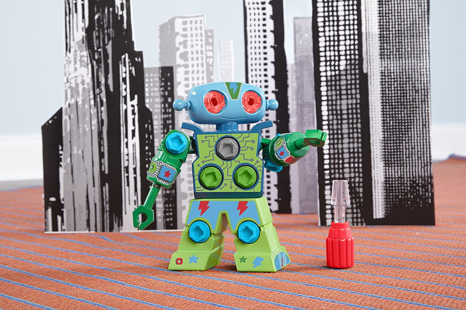 Learning Resources Design and Drill Robot