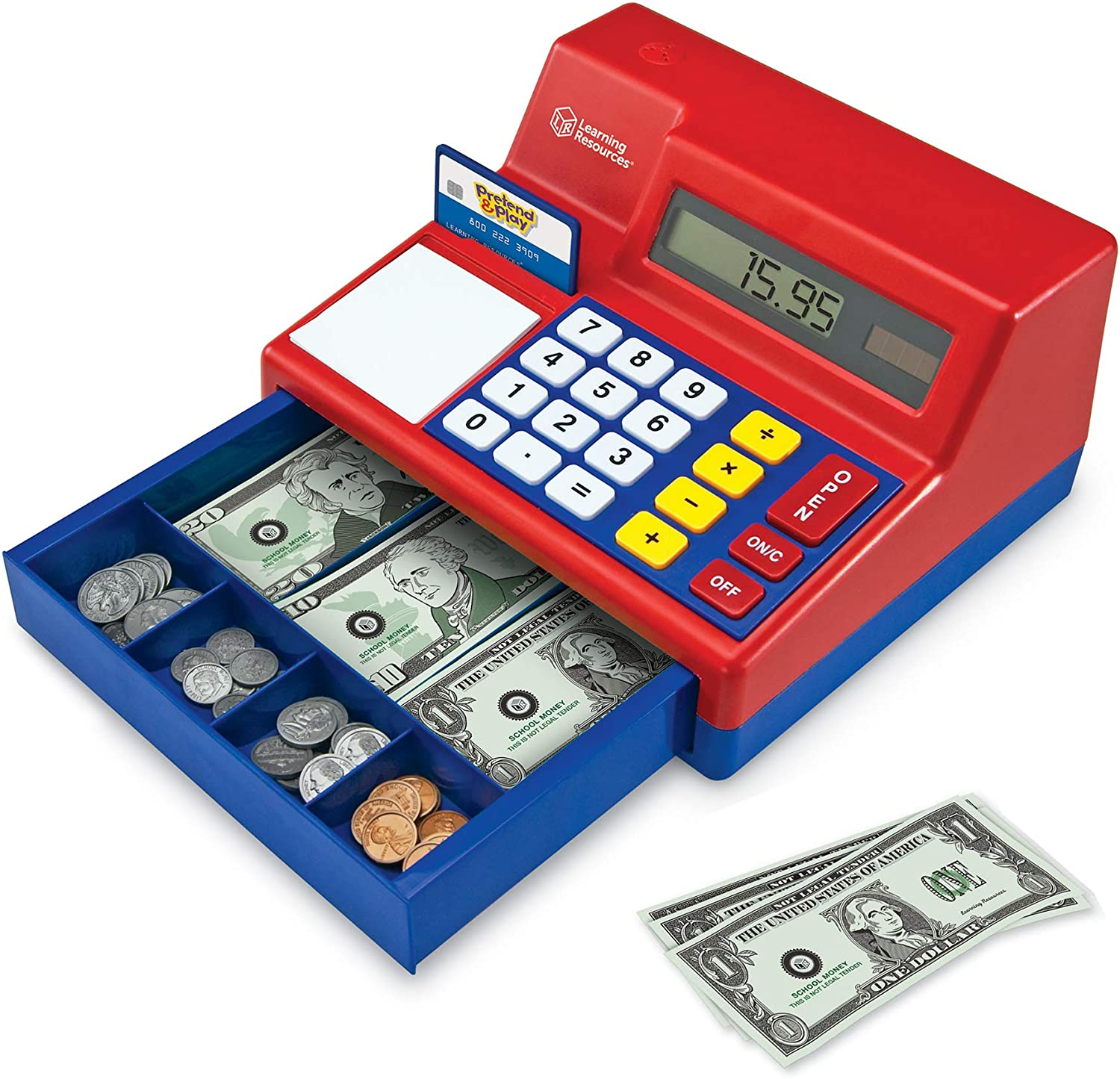 Learning Resources Calculator Cash Register (UK Currency)