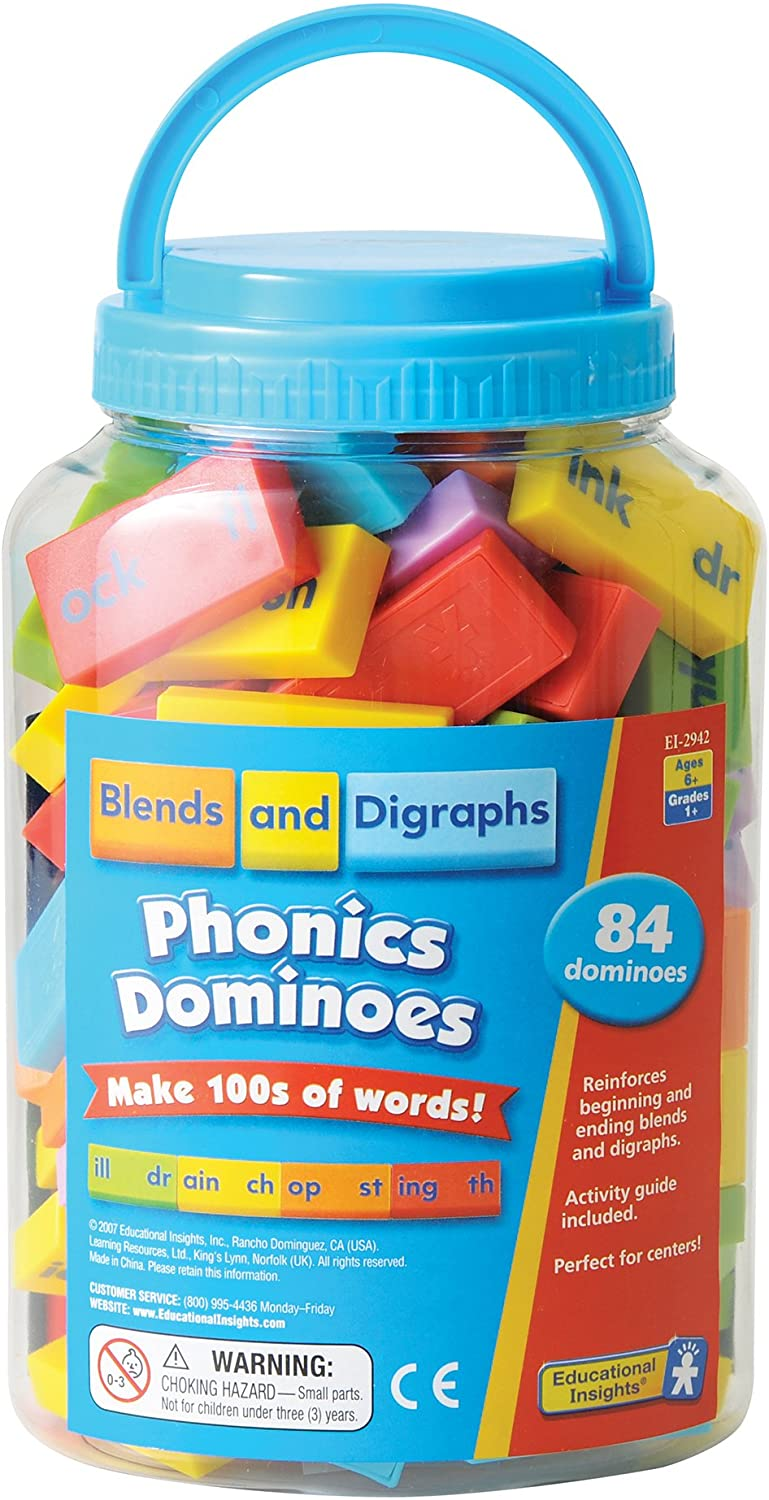 Learning Resources Phonics Dominoes - Blends & Digraphs