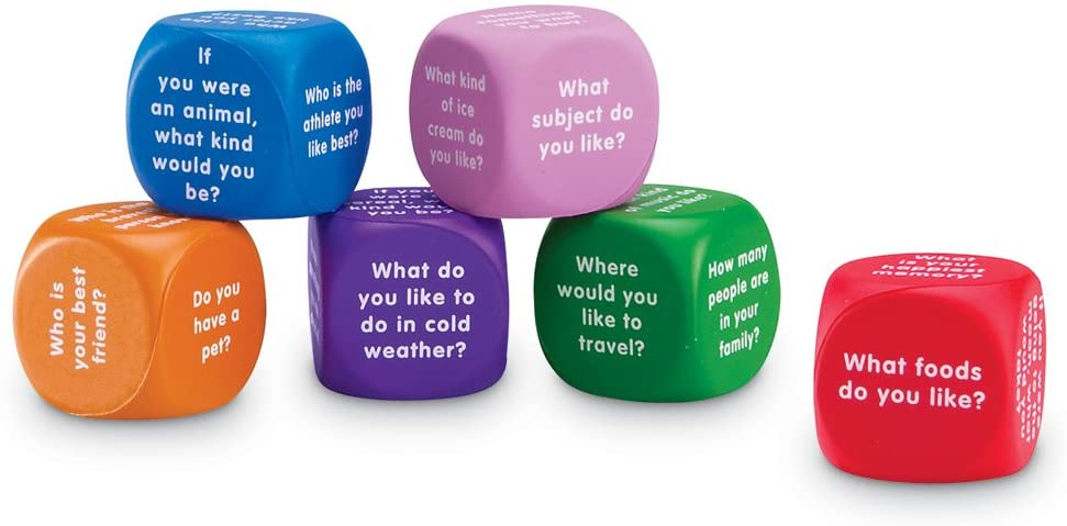 Learning Resources Conversation Cubes