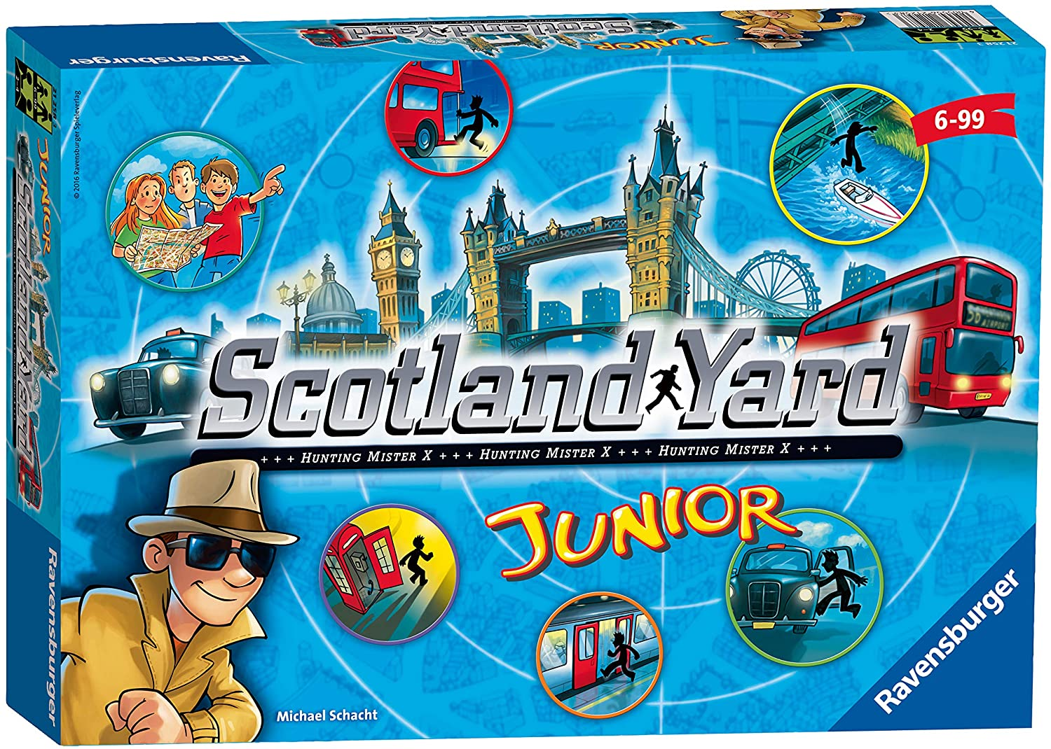 Ravensburger Scotland Yard Junior Family Strategy Board Game
