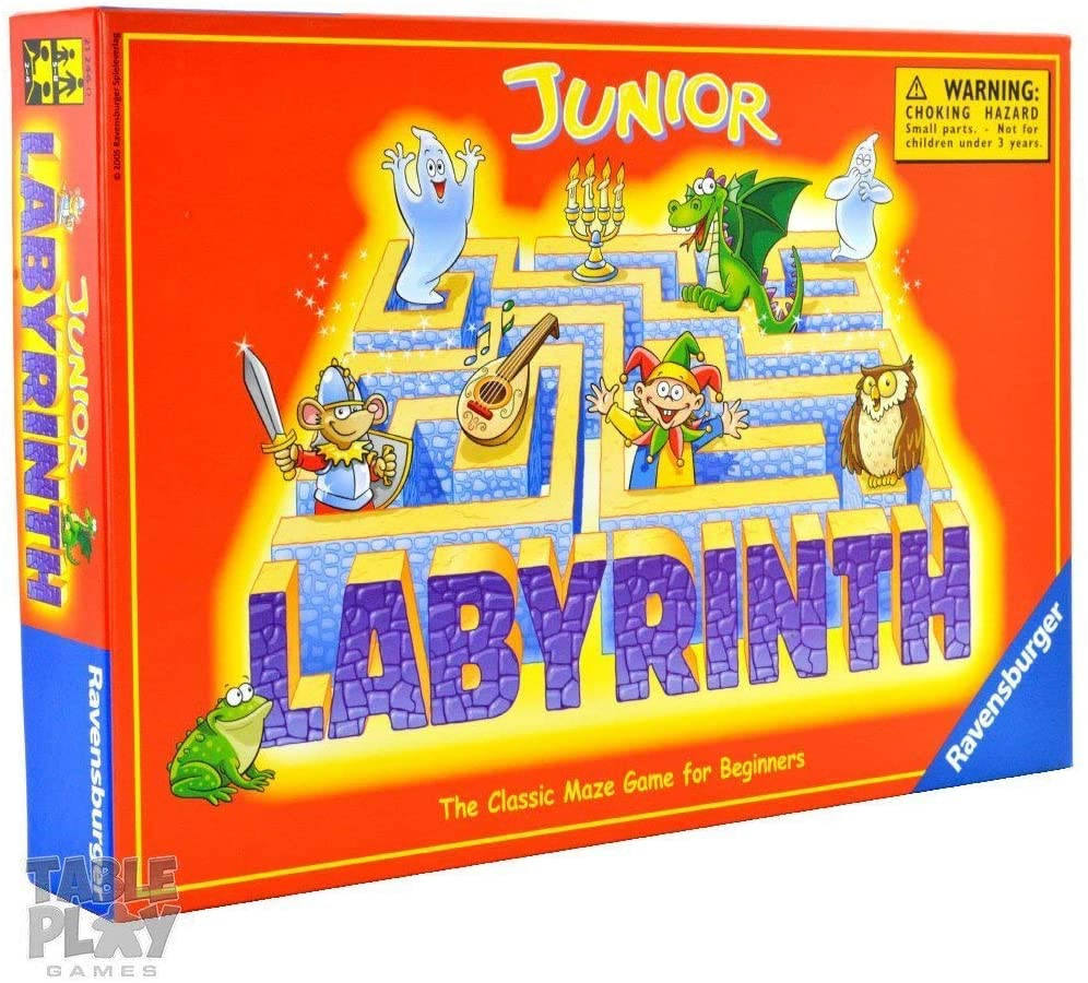 Ravensburger Labyrinth Junior - The Moving Maze Family Board Game