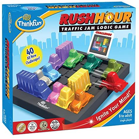 Ravensburger ThinkFun Rush Hour Traffic Jam Logic Game