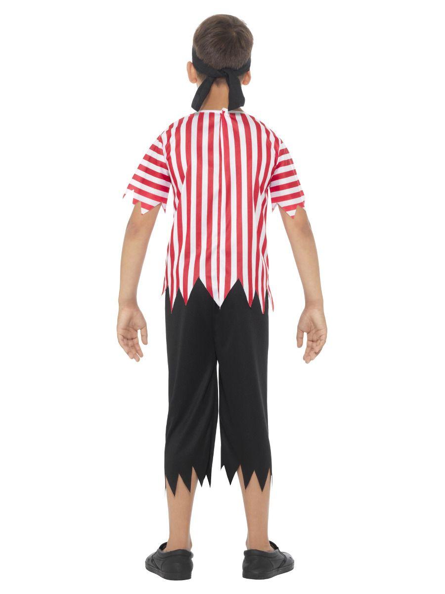 Smiffys Jolly Pirate Boy Costume - Small