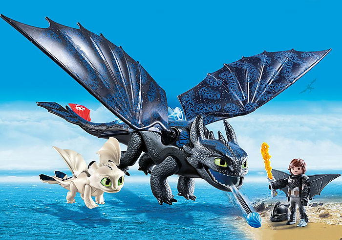 Playmobil DreamWorks Dragons Hiccup and Toothless
