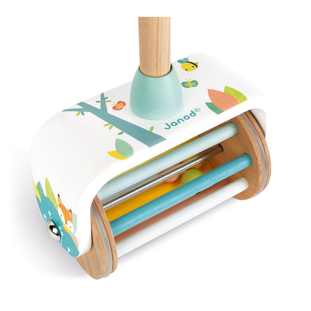 Janod Wooden Pure Push-Along Toy